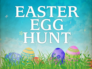 Easter Egg Hunt 2017 – Saturday April 15, 9:30-11:00 am