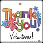 Volunteer Appreciation Sunday, June 5